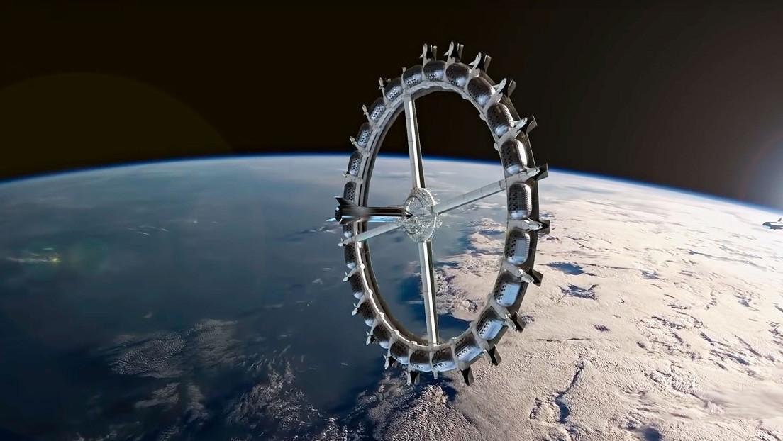 Ponen fecha a la puesta en órbita del primer hotel espacial comercial (y tendrá forma de rosquilla)