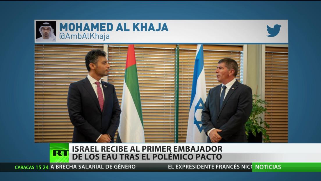 Israel recibe al embajador de EAU tras el polémico pacto de restablecimiento de relaciones