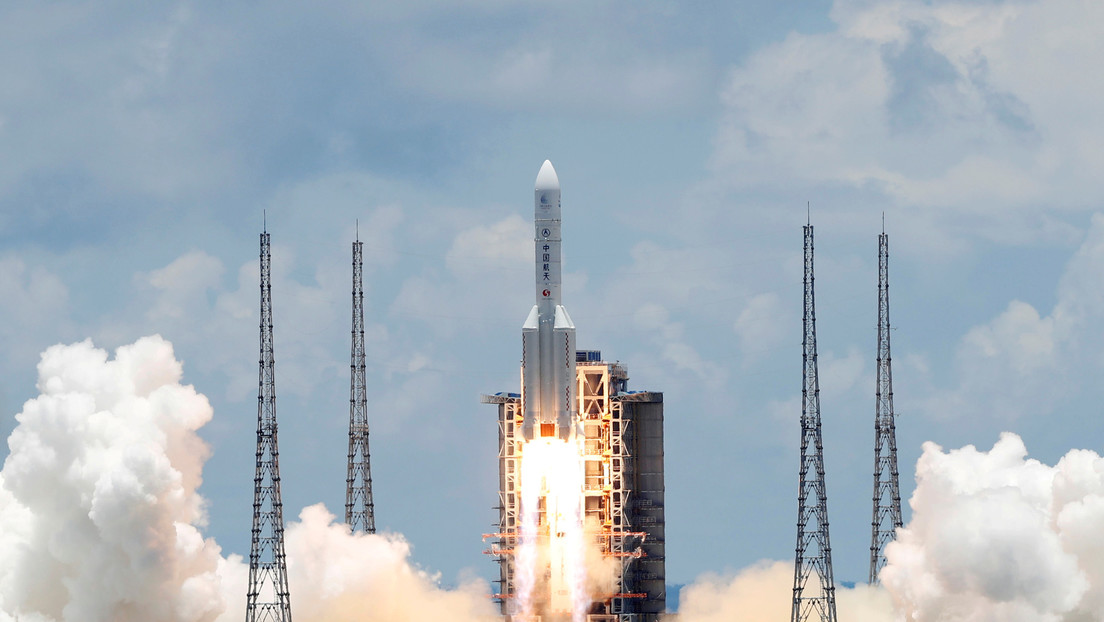 Revelan detalles del cohete que llevaría a los astronautas chinos a la Luna