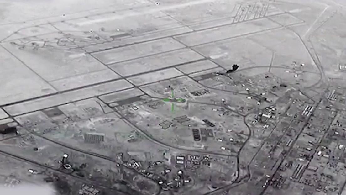 VIDEO: Misiles iraníes llueven sobre una base de EE.UU. en Irak tras el asesinato de Soleimani en 2020