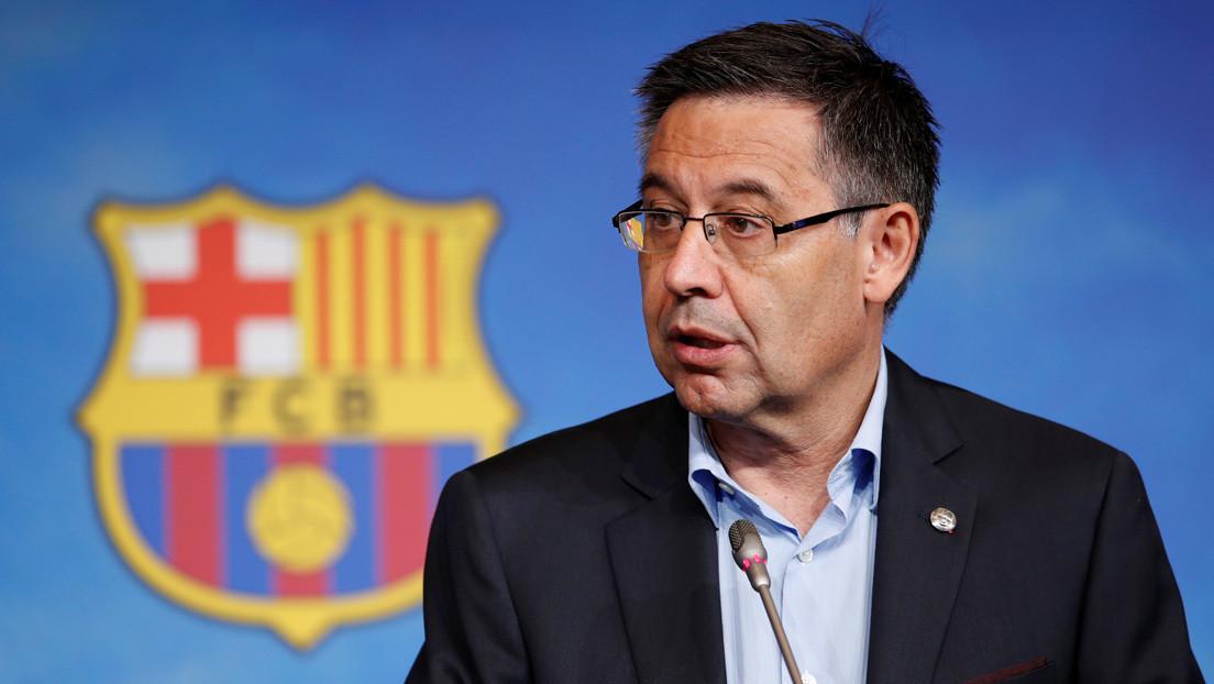 El expresidente del FC Barcelona, Josep Maria Bartomeu, queda en libertad provisional tras comparecer ante el juez