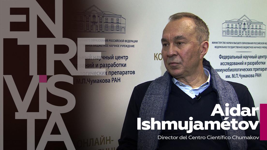 """""""La más clásica"""" y sin efectos secundarios: el director del Centro Chumakov explica cómo es la tercera vacuna rusa contra el covid-19"""