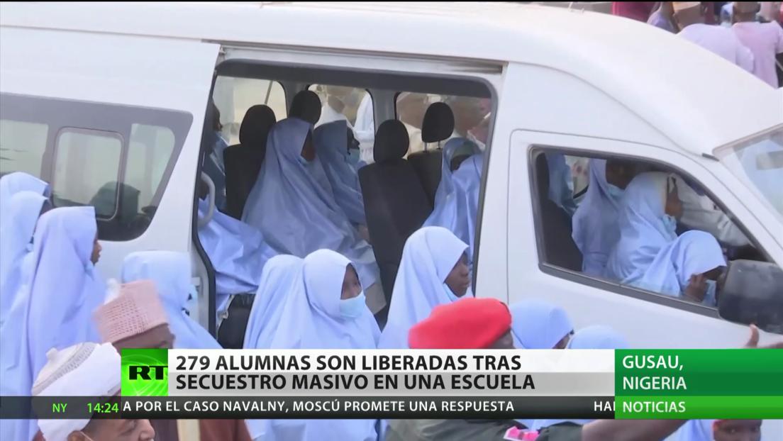 Liberan a 279 alumnas tras su secuestro masivo en un colegio de Nigeria
