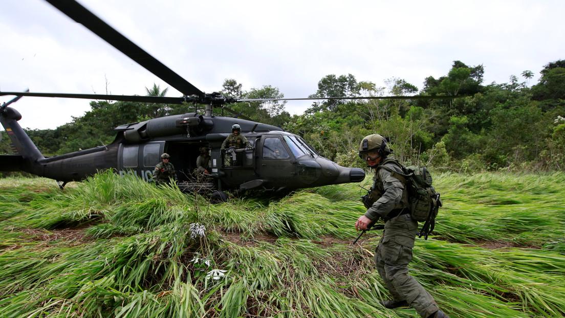 Mueren 13 disidentes de las extintas FARC en Colombia tras un bombardeo del Ejército