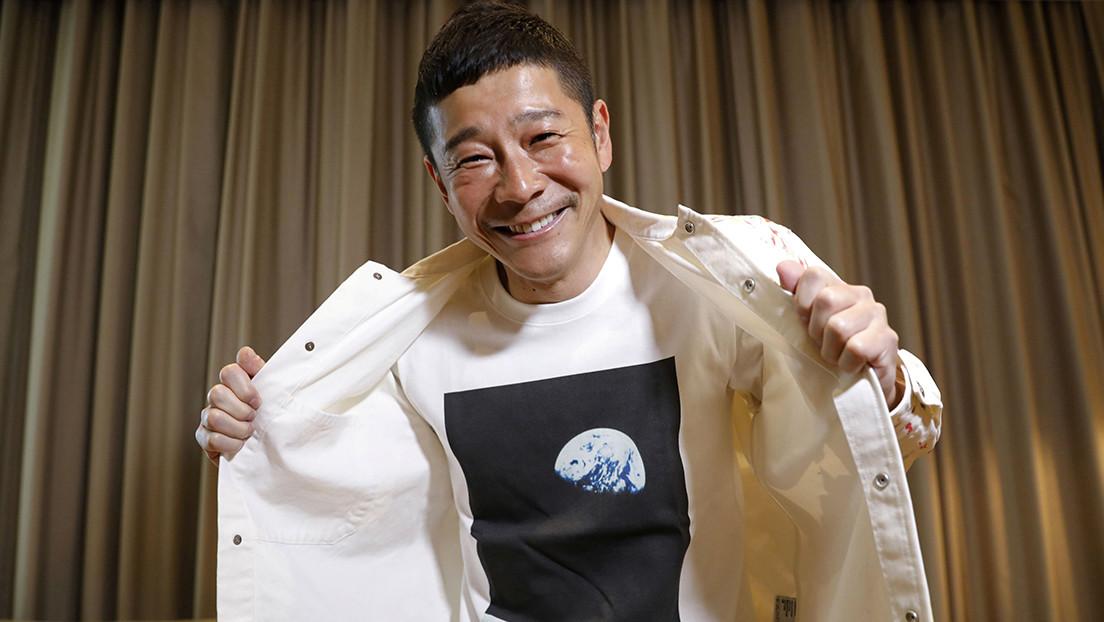 Multimillonario japonés ofrece ocho billetes gratis para acompañarlo a la Luna
