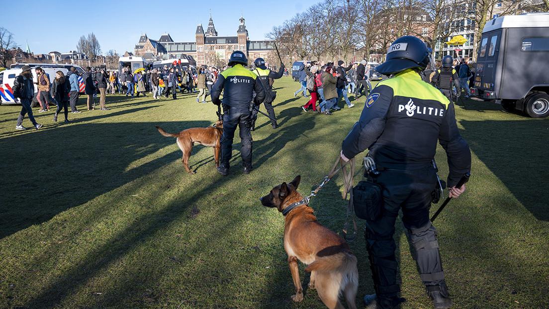 Se registra una explosión cerca de un centro de pruebas de covid-19 en Países Bajos