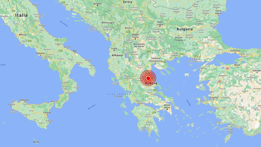 Un sismo de magnitud 6,3 se registra en el centro de Grecia