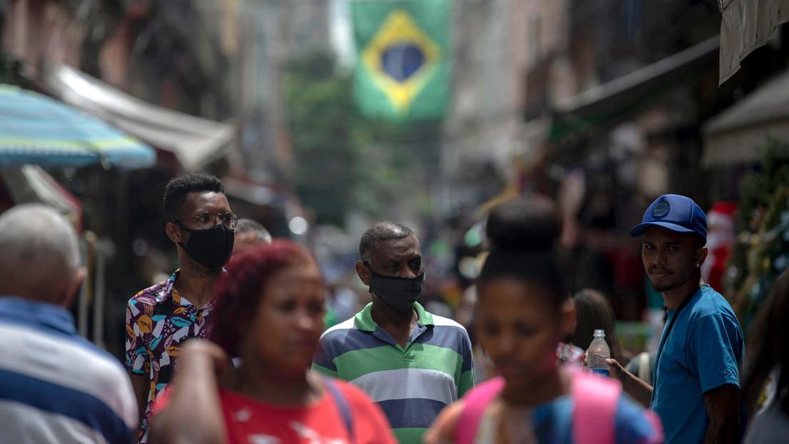 El PIB de Brasil registra una caída histórica de un 4,1 % en 2020 por el impacto de la pandemia