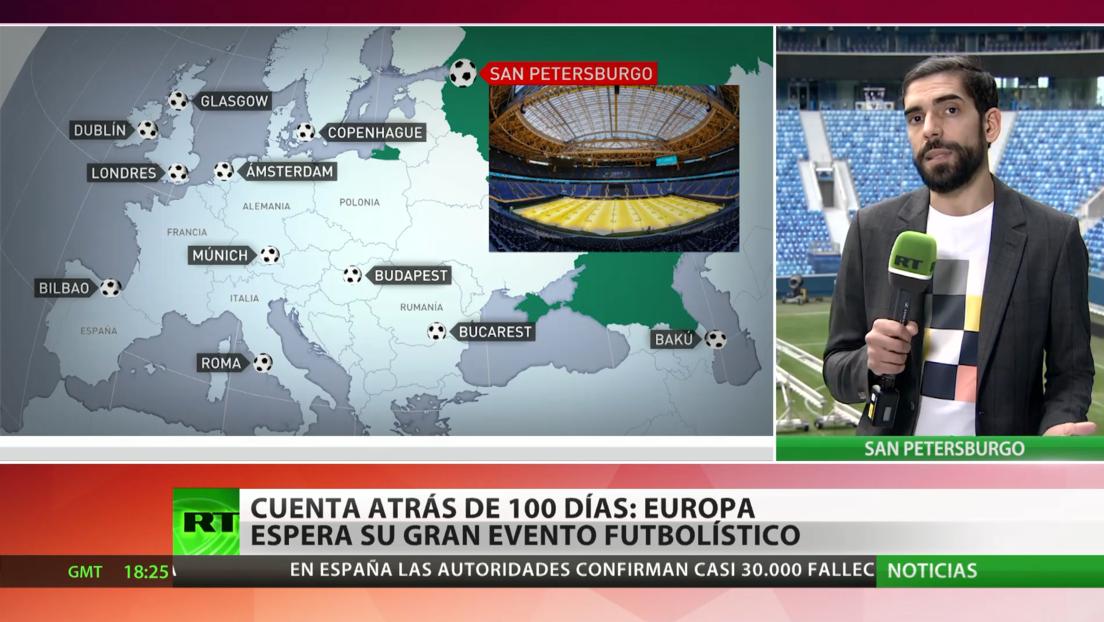 100 días de cuenta atrás: Europa espera su gran evento futbolístico