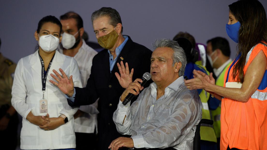 """""""Suelen ser recomendaciones de los abogados"""": Lenín Moreno justifica la salida de Ecuador del exministro de Salud Juan Carlos Zevallos"""