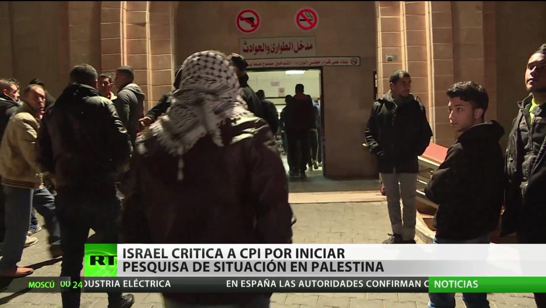 Israel critica a la Corte Penal Internacional por la pesquisa sobre la situación en Palestina