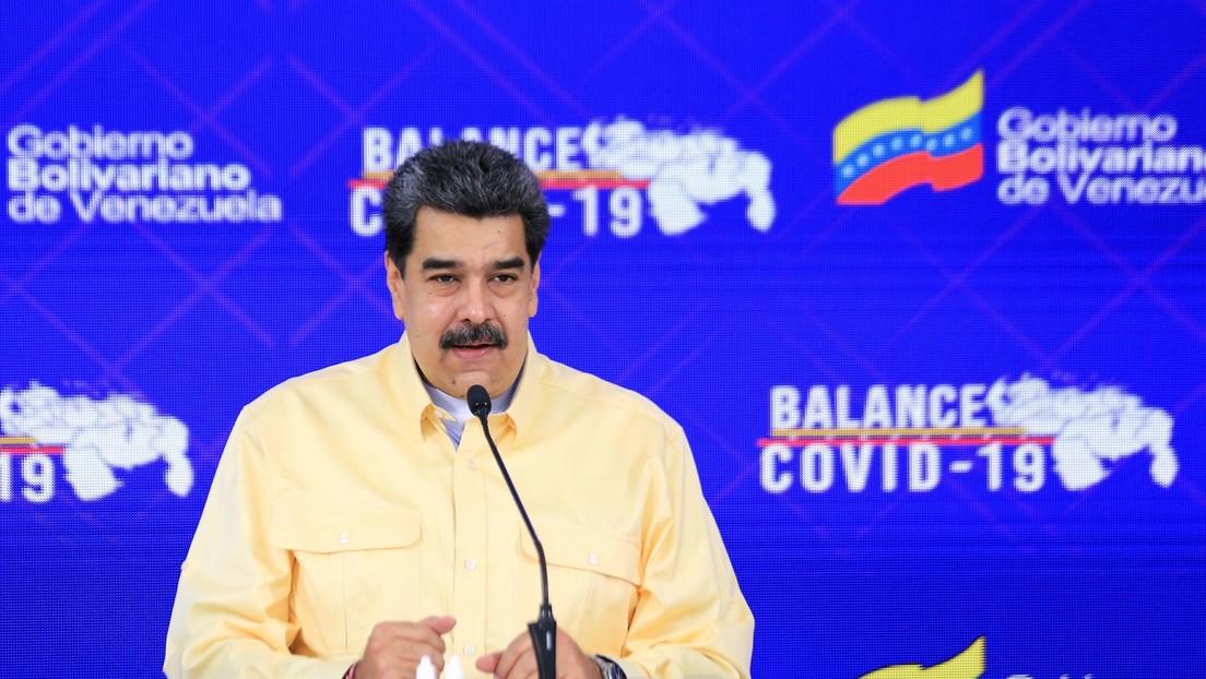 """Maduro anuncia que """"la variante brasilera del coronavirus"""" ha sido detectada en Venezuela"""