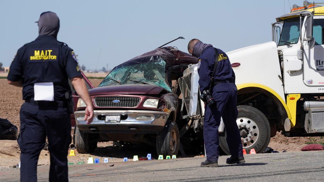 Un accidente deja 13 muertos en California y ahora las autoridades investigan si el auto ingresó a EE.UU. por un agujero en la valla fronteriza