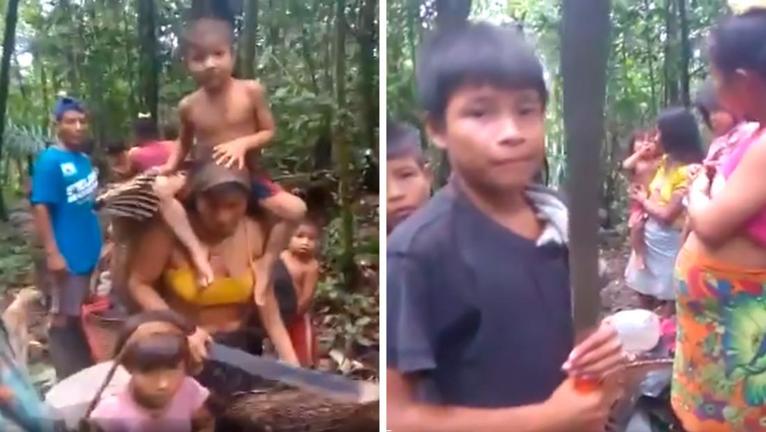 Lo que hay detrás de las imágenes de 48 familias indígenas que huyen de su comunidad en Colombia (VIDEOS)