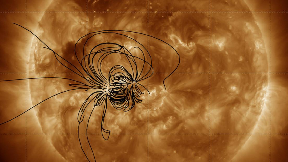 Revelan por primera vez de qué región del Sol provienen las partículas nocivas que llegan hasta la Tierra