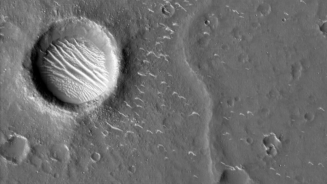 FOTOS: China muestra nuevas imágenes de Marte en alta resolución captadas por su sonda Tianwen-1