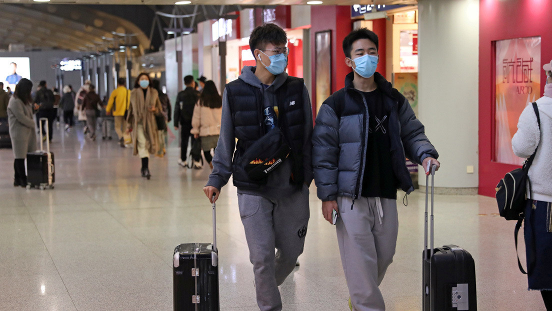 Global Times: Algunas ciudades chinas someten a los viajeros internacionales a pruebas anales de covid-19