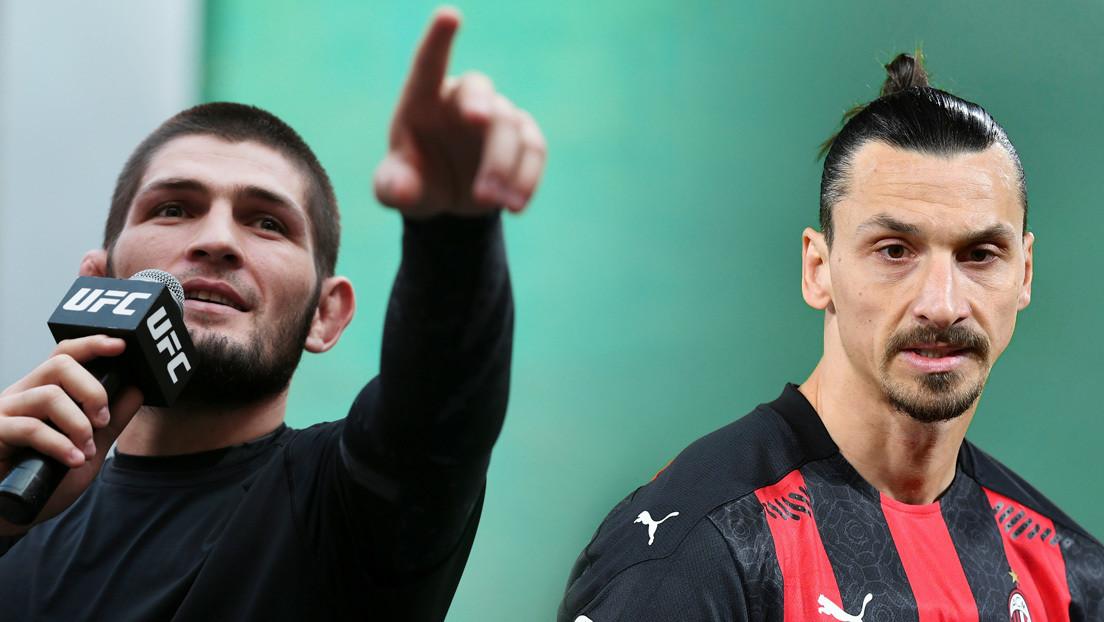 Khabib Nurmagomedov revela qué le dijo Zlatan Ibrahimovic antes de su última pelea en la UFC y el mayor temor de Cristiano Ronaldo