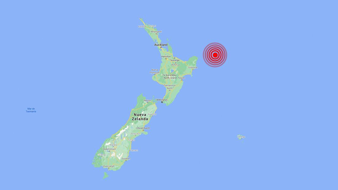 Un fuerte sismo de magnitud 7,1 se registra frente a las costas de Nueva Zelanda y genera alerta de posible tsunami