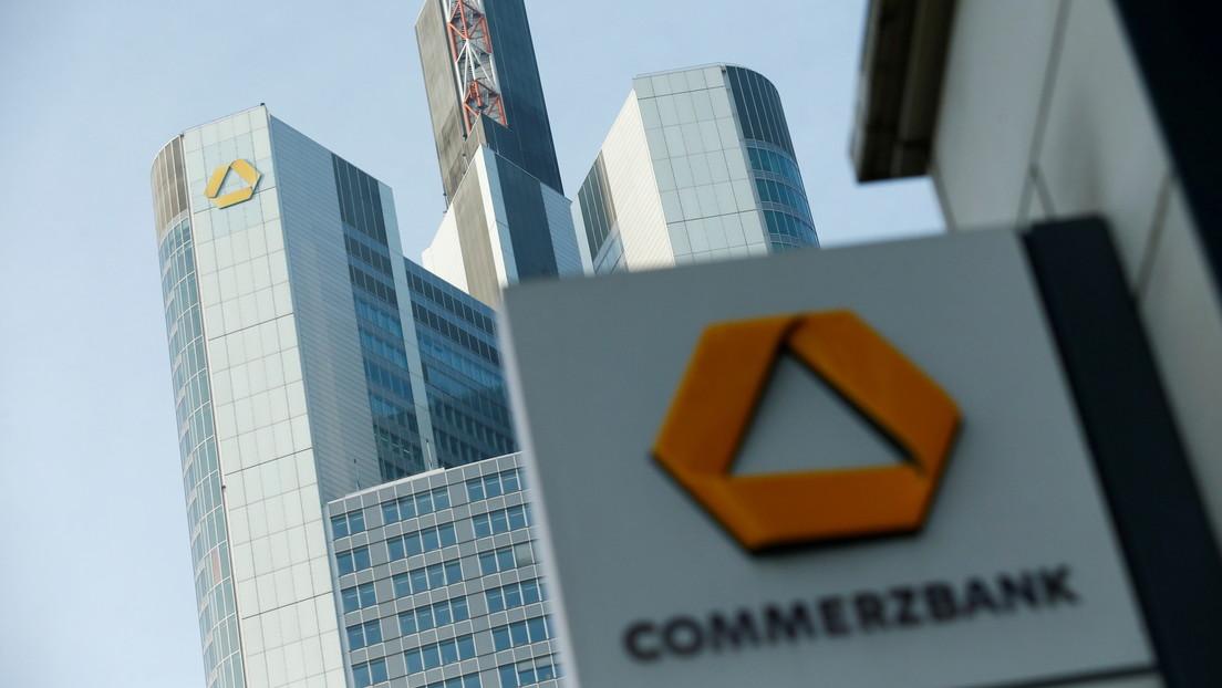 Commerzbank cerrará las cuentas de empresas filiales de RT el 31 de mayo