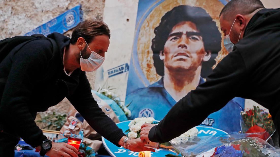 """""""No murió, lo mataron"""": Una hija de Maradona convoca una marcha en Buenos Aires para exigir """"justicia"""" por la muerte de su padre"""