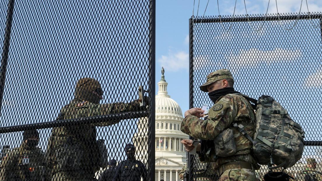 La Policía del Capitolio pide que se prolongue por dos meses el despliegue de la Guardia Nacional