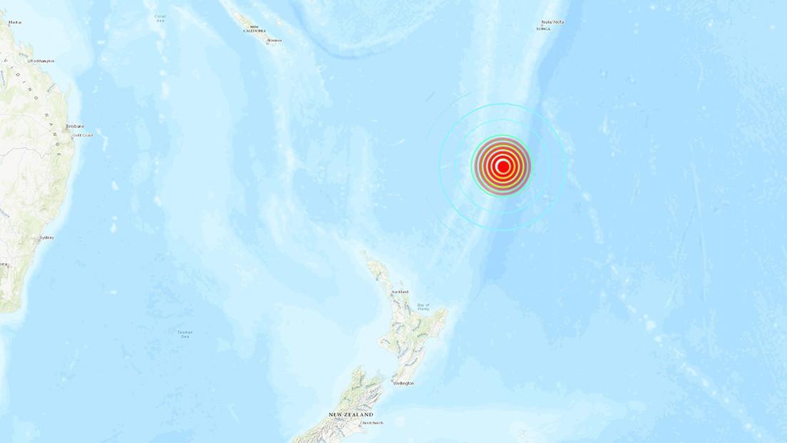 Un segundo y potente terremoto de magnitud superior a 7 sacude las costas de Nueva Zelanda