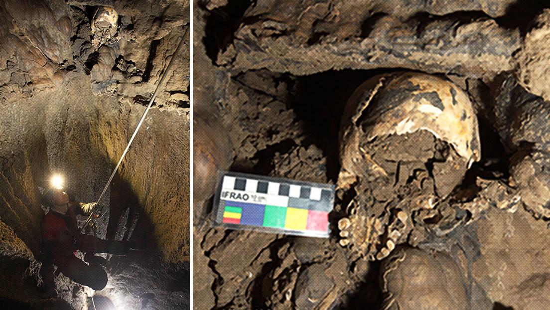 ¿Cómo pudo llegar un cráneo prehistórico hasta una altura inaccesible de una cueva italiana? Científicos creen tener la respuesta