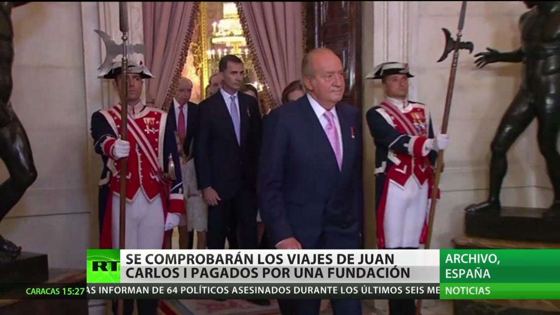 Hacienda comprobará los viajes de Juan Carlos I pagados por una fundación