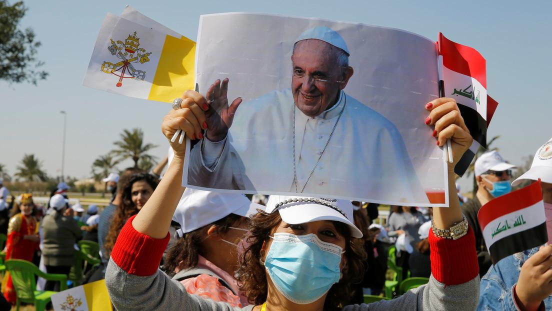 VIDEO: Comienza la histórica visita a Irak del papa Francisco - RT