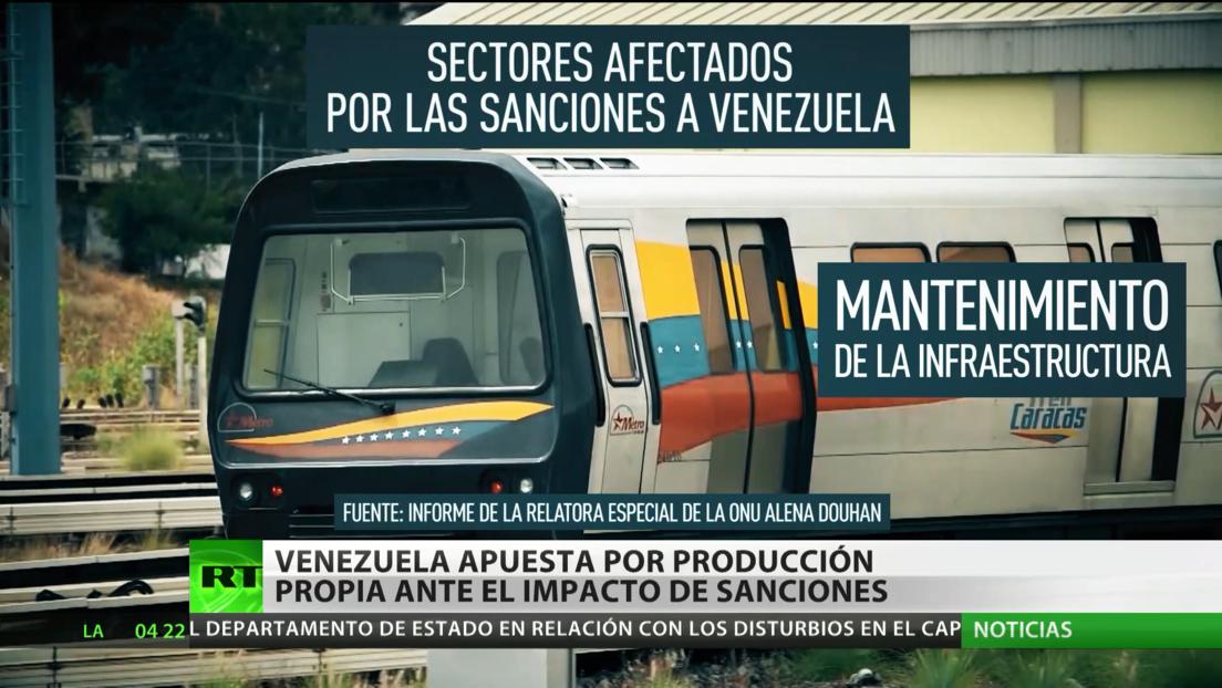 Venezuela apuesta por la producción propia ante el impacto de las sanciones de EE.UU.