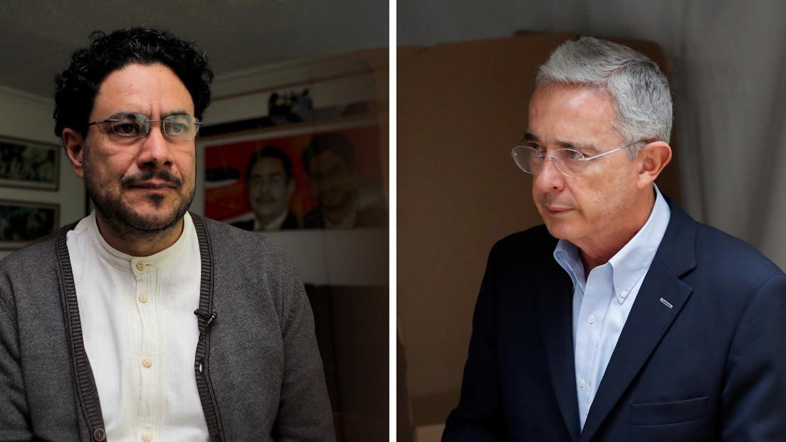 """Uribe califica de """"paso positivo"""" la petición de la Fiscalía para cerrar su caso y un senador colombiano responde: """"Querrá decir falso positivo"""""""