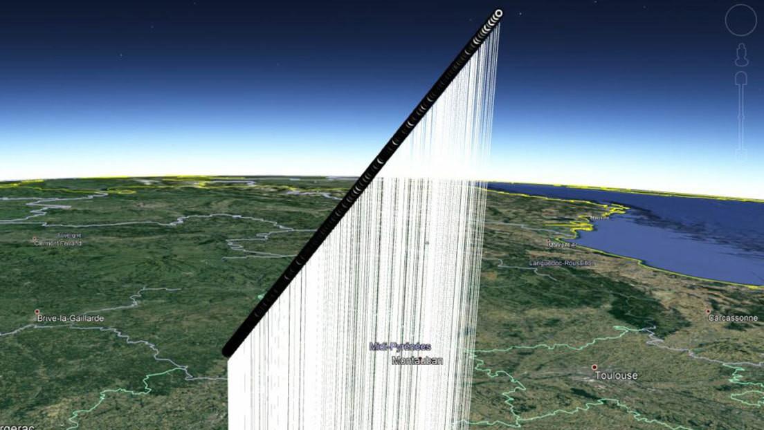 Astrónomos franceses piden ayuda para encontrar un meteorito del tamaño de un albaricoque que cayó a la Tierra el sábado pasado