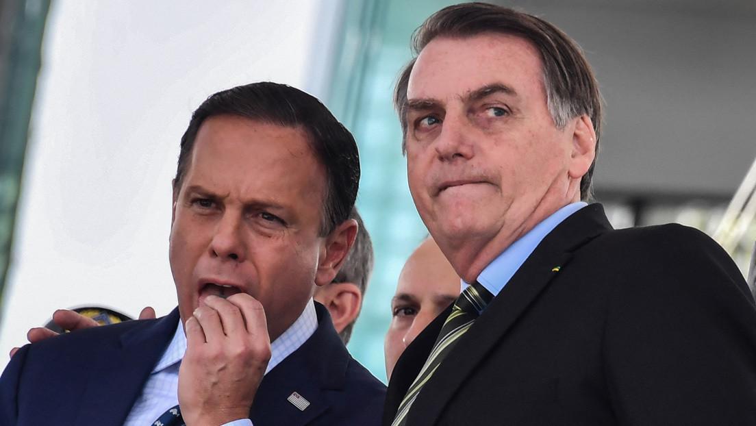 """""""Pregunte a su madre qué vacuna recibió"""": El gobernador de Sao Paulo carga contra Bolsonaro por su actitud ante la pandemia"""