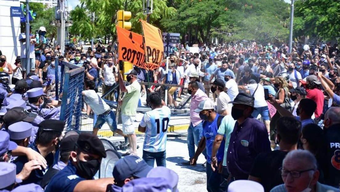 VIDEOS: Disturbios en la provincia argentina de Formosa tras el aumento de las restricciones por la pandemia