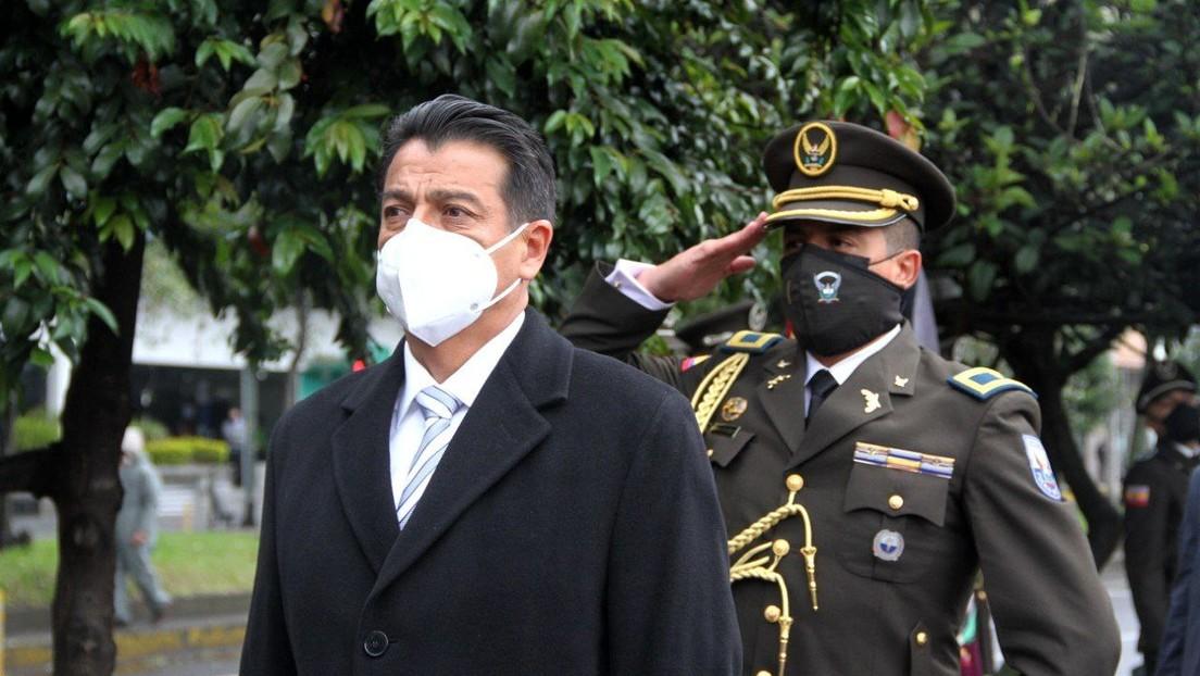 Renuncia el ministro de Gobierno de Ecuador, Patricio Pazmiño, 10 días después de la masacre carcelaria que dejó 79 reos muertos