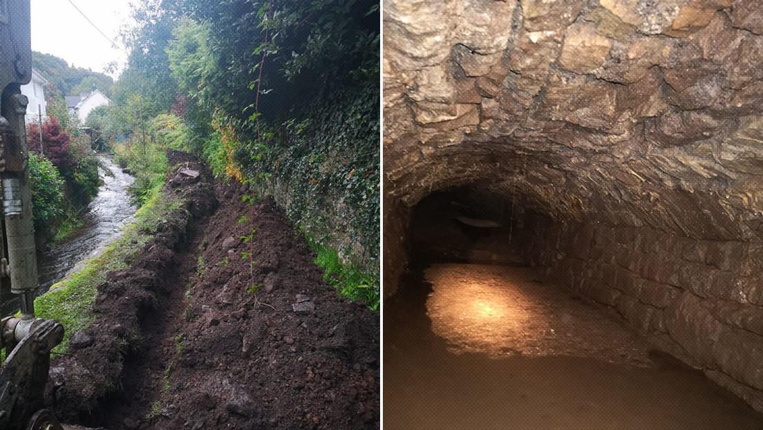 FOTOS: Hallan unos enigmáticos túneles medievales cerca de una abadía del siglo XII en Reino Unido
