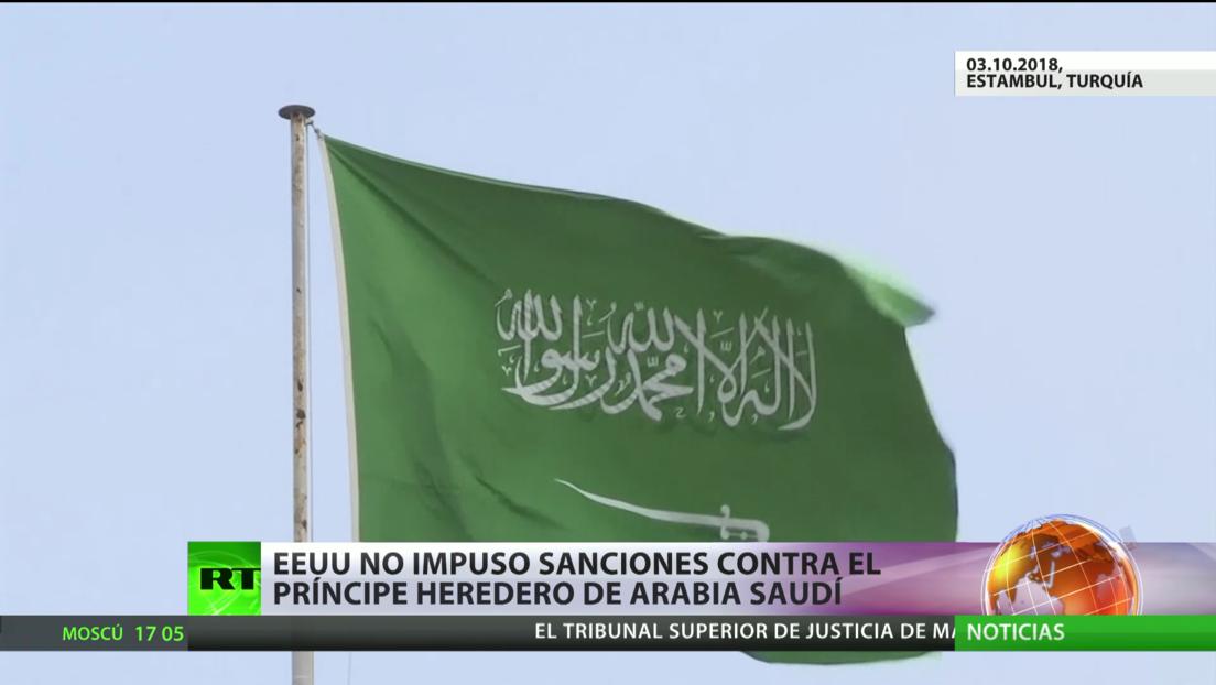 EE.UU. no impone sanciones contra el príncipe herededo de Arabia Saudita por el asesinato del periodista Khashoggi