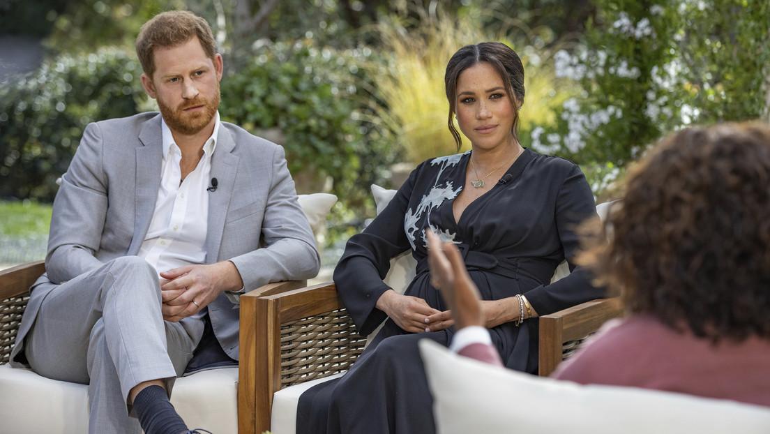 Meghan Markle revela que tenía pensamientos suicidas y en la familia real se preocupaban por cuán oscura sería la piel de su hijo
