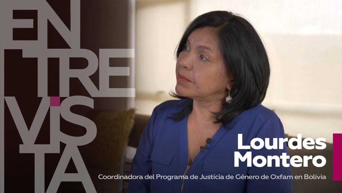 """Lourdes Montero, coordinadora del Programa de Justicia de Género de Oxfam en Bolivia: """"Un machista golpeador es un saludable producto del patriarcado"""""""