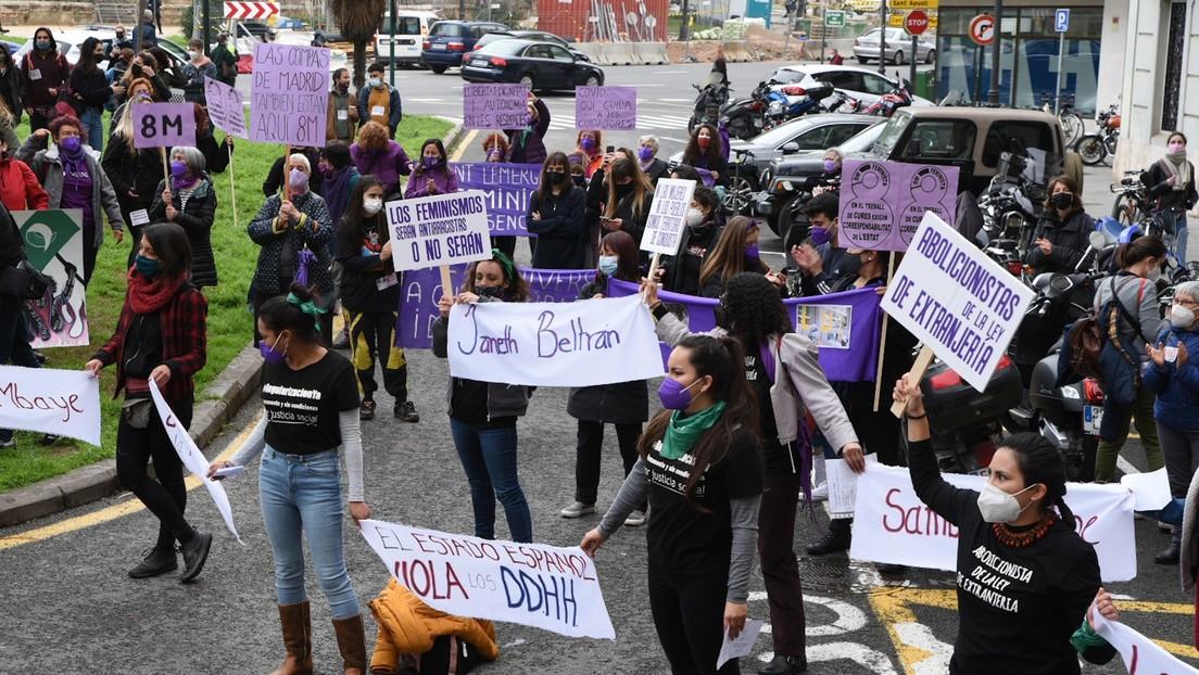 Entre la prohibición de manifestaciones en Madrid y los señalamientos a las feministas: España vive su 8M más atípico