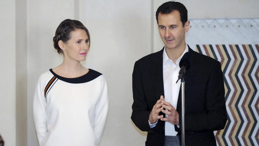 Bashar al Assad y su esposa dan positivo por covid-19