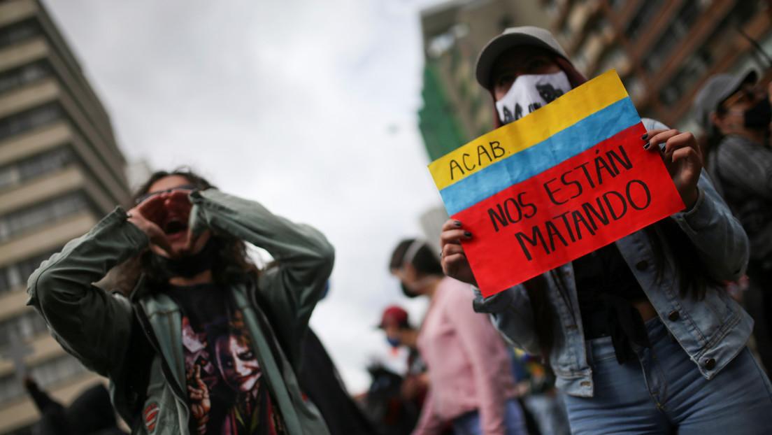 """""""Ratas asesinas"""" y """"voz de los criminales"""": revelan chats de un exdirector policial de Colombia en los que insulta a defensores de derechos humanos"""