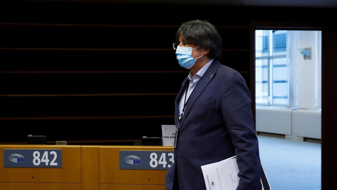 El Parlamento Europeo levanta la inmunidad de Carles Puigdemont y otros dos políticos catalanes