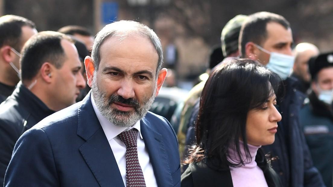 Jefes de las Fuerzas Armadas de Armenia reiteran su llamado a la renuncia de primer ministro Nikol Pashinián
