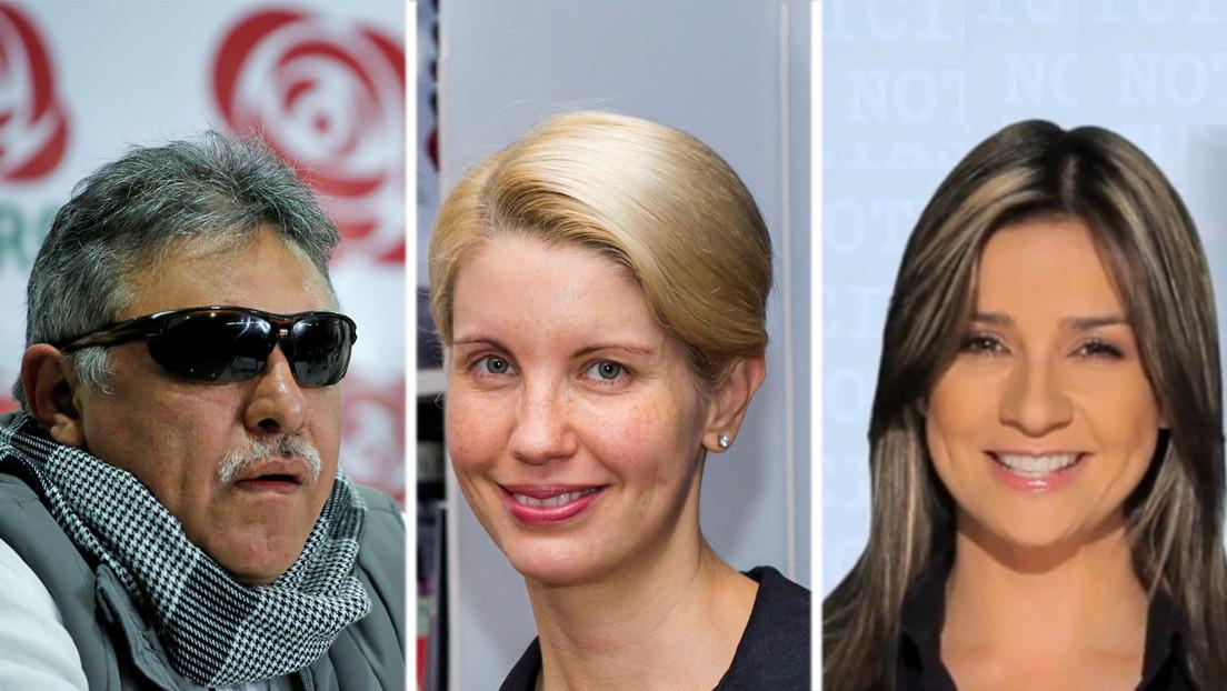 Investigan amenazas de 'Jesús Santrich' contra las periodistas colombianas Vicky Dávila y Claudia Gurisatti