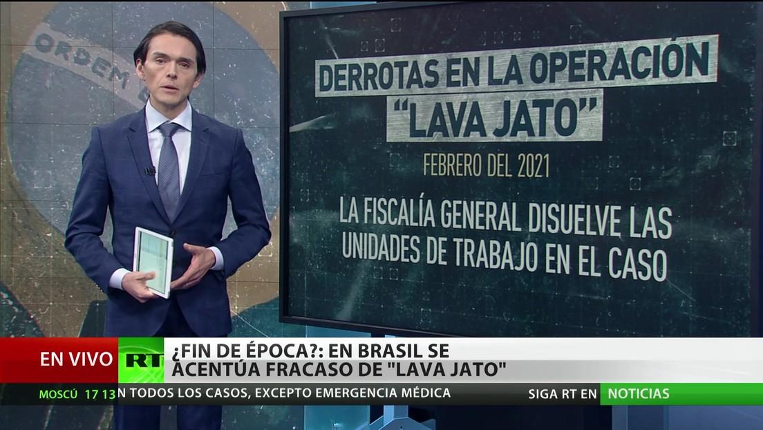 Brasil: Se acentúa el fracaso de la operación 'Lava Jato'