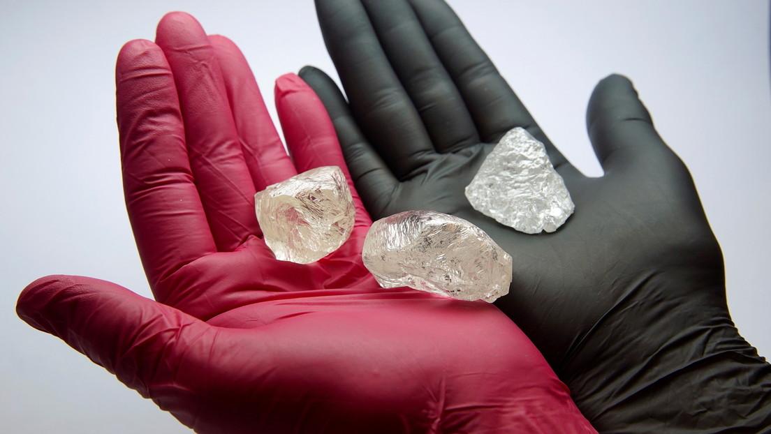 La minera rusa Alrosa triplica sus ventas de diamantes pulidos a medida que se recupera la demanda en los mercados clave