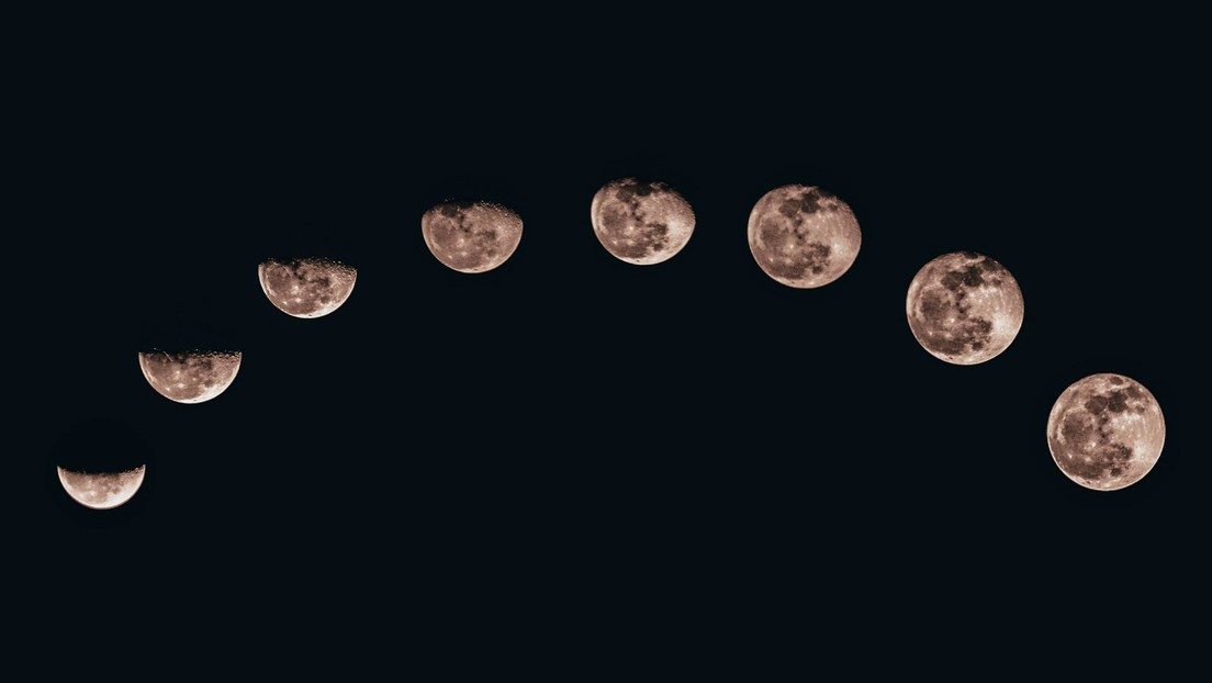 La Luna tiene una cola de sodio impulsada por meteoritos y parecida a la de un cometa, que envuelve a la...