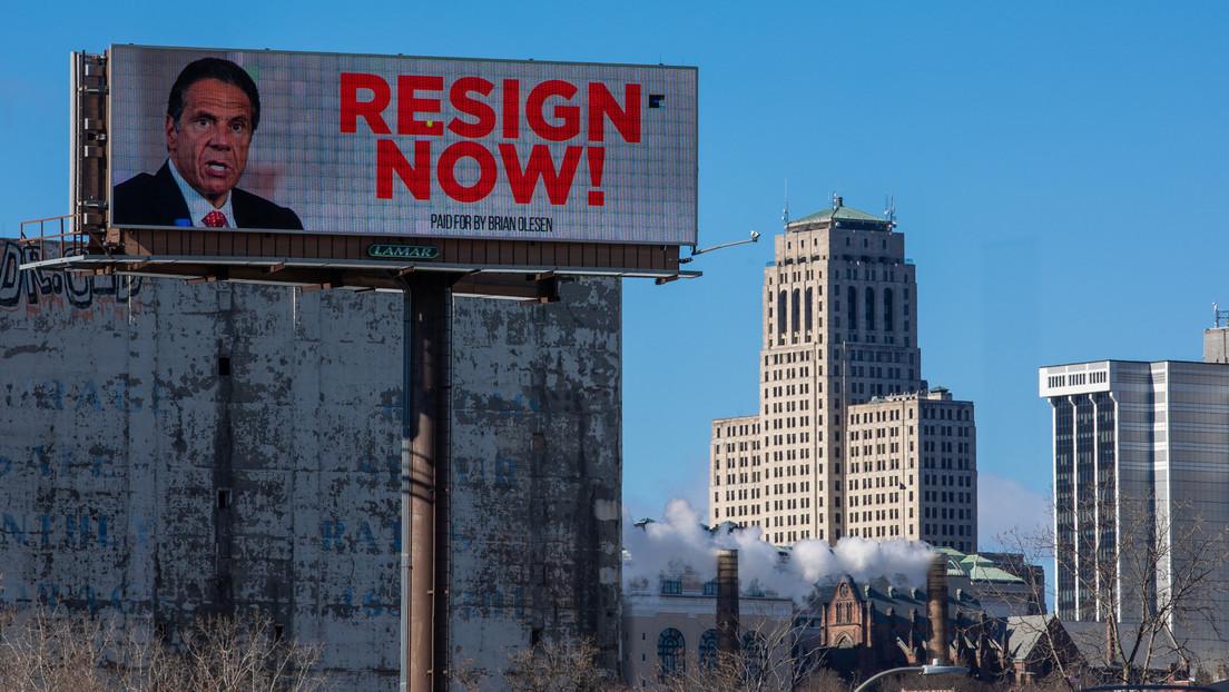 El alcalde de Nueva York y casi 60 demócratas exigen la renuncia del gobernador Cuomo tras las acusaciones de acoso sexual y mal manejo de la pandemia